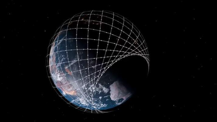 [Imagen] - Constelación de Starlink